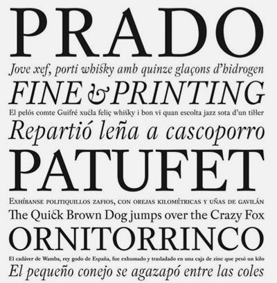 Type Foundries From Barcelona – Graphic Hug